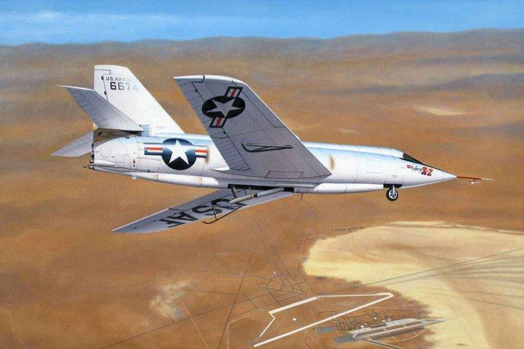 На Bell X-2 Starbuster проводились испытания и изучались условия эксплуатации машины на пиковых скоростях