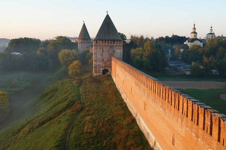 Смоленск – город на Днепре — по-прежнему остается привлекательным для туристов