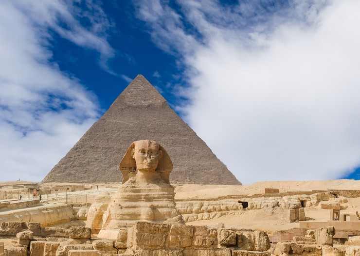 Пирамиды Гизы и Сфинкс