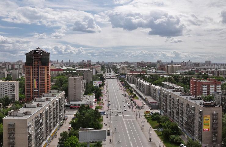 Красный проспект, Новосибирск