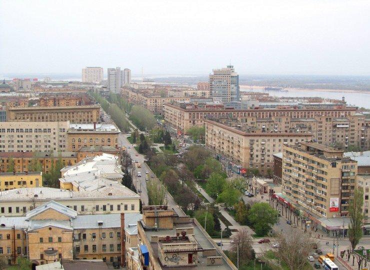 Проспект имени Ленина, Волгоград
