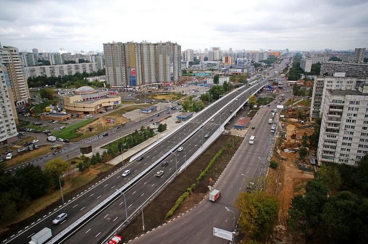 Варшавское шоссе в городе Москва