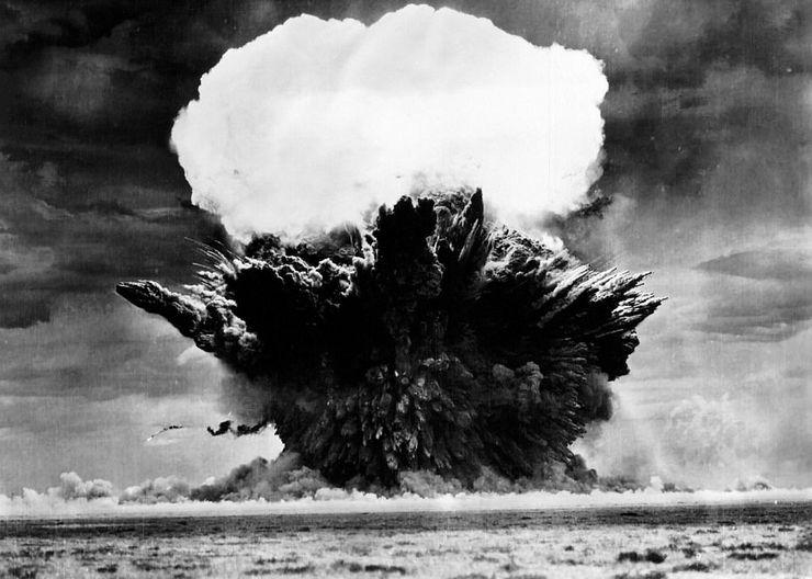 Взрыв бомбы Рея