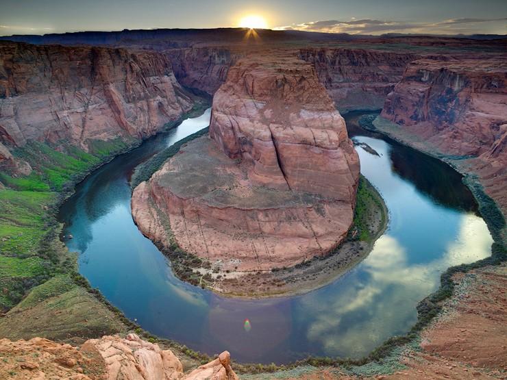Изгиб реки Колорадо