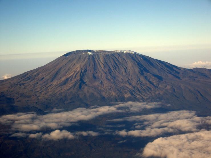 Стратовулкан Килиманджаро