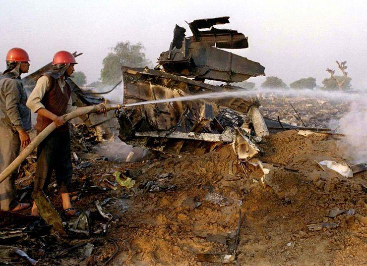 Индия, 12 ноября 1996, 349 жертв