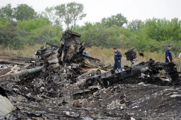 Украина, 17 июля 2014, 298 жертв