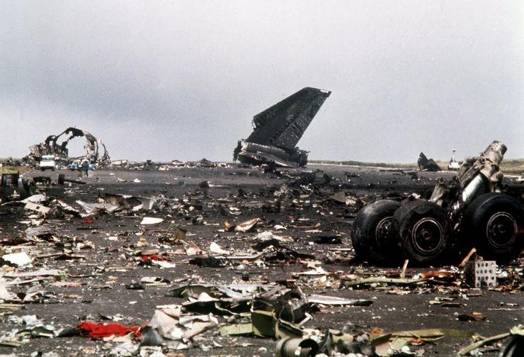 Канарские острова, 27 марта 1977, 583 жертвы