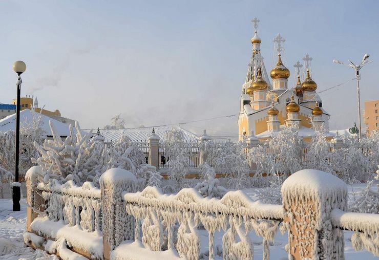Якутск зимой